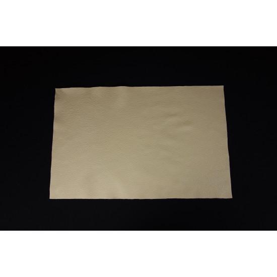 Pigmentovaná koža krémová, panel 67x43 cm