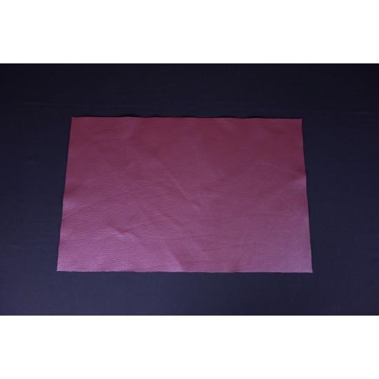 Pigmentovaná koža tmavo ružová, panel 67x43 cm