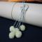 Vlnené bambuľky 5ks